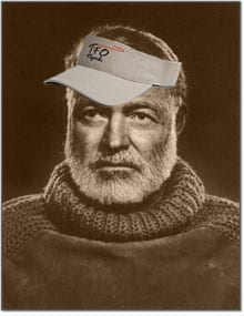 Ernest Hemingway joins Temple Fork Outfitters.