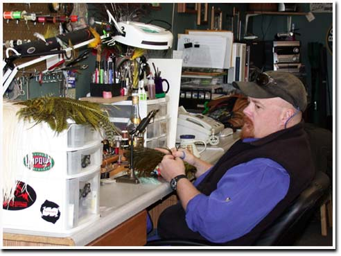 The Otter's Den takes a casual take on your average fly shop.
