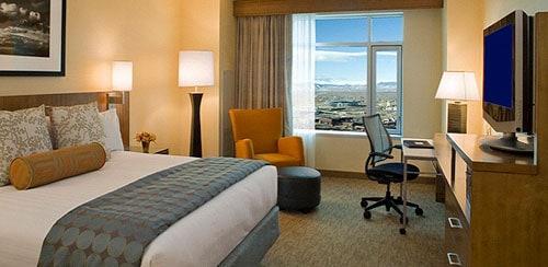 Hyatt Hotel rooms 50% off from regular pricing.