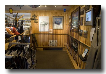 The Fly Fisher's Place is focused on selling quality items.