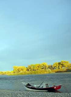 The small town of Fort Smith lives on the waters of the Bighorn River.
