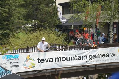 Teva mountain games in Denver.