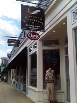 West Concord is home to Concord Outfitters.