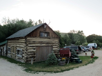 Saddlestring, Wyoming is home to Rock Creek Anglers flyshop.