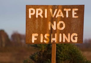 Private No Fishing