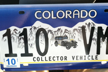 Clyde gets new plates sent to Oregon.