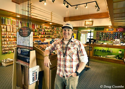Mike Schultz, owner of Schultz Outfitters in Ypsilanti, Michigan.