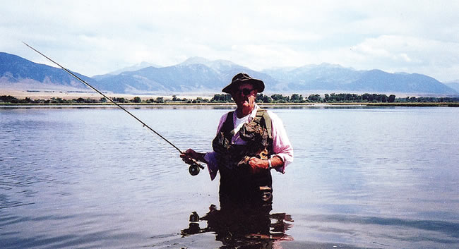 The Madison River's original wild-trout advocate.