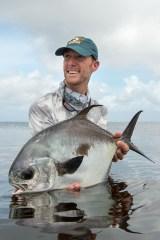 Permit fishing in Belize.