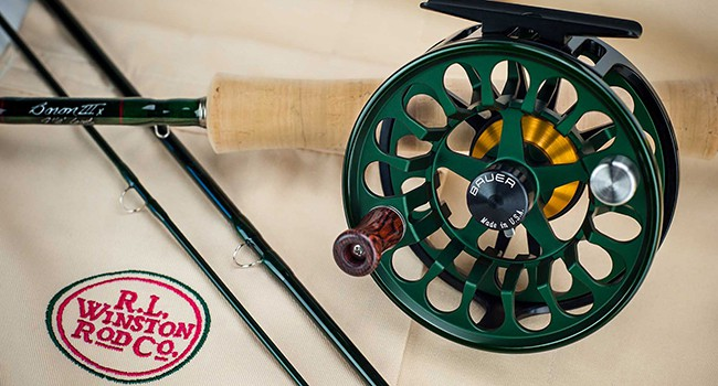 Winston Rod Company took over Bauer Premium Reel Company in Oregon.