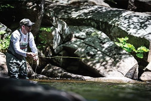 An informal search for native brookies leads the author to something more