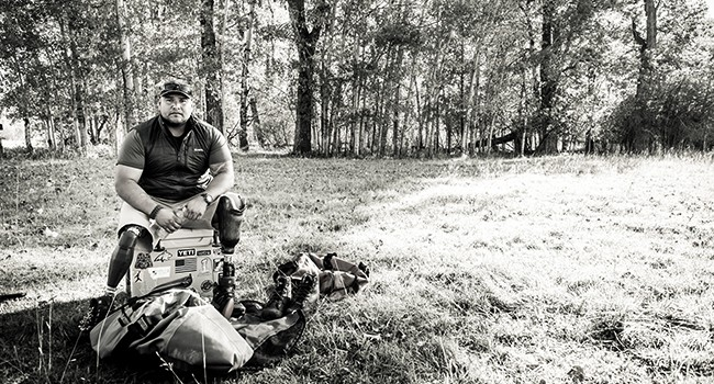 Simms launches special waders for benefit of Warriors and Quiet Waters Foundation.