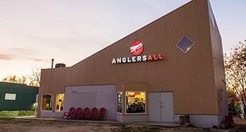 Anglers All is a massive two story building, filled with almost everything you could need.