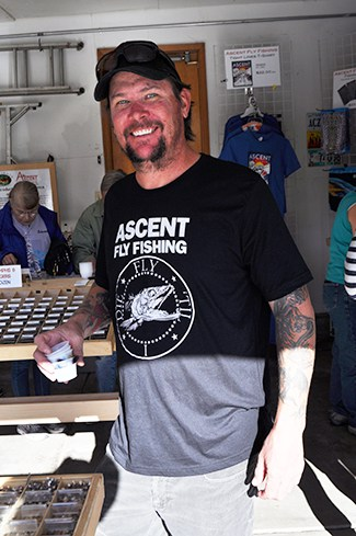 Ascent Fly Fishing, run by Peter Stitcher, is like an underground flyshop.