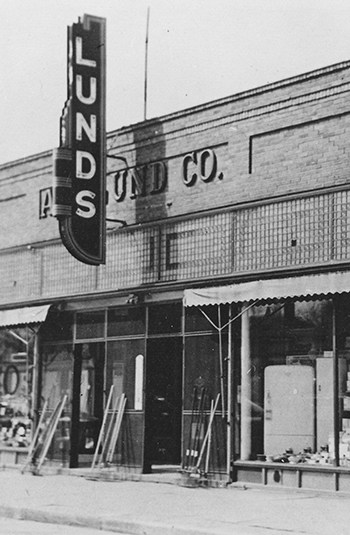 Lund's Fly Shop came to Wisconsin in 1873, later moving into an old bank.