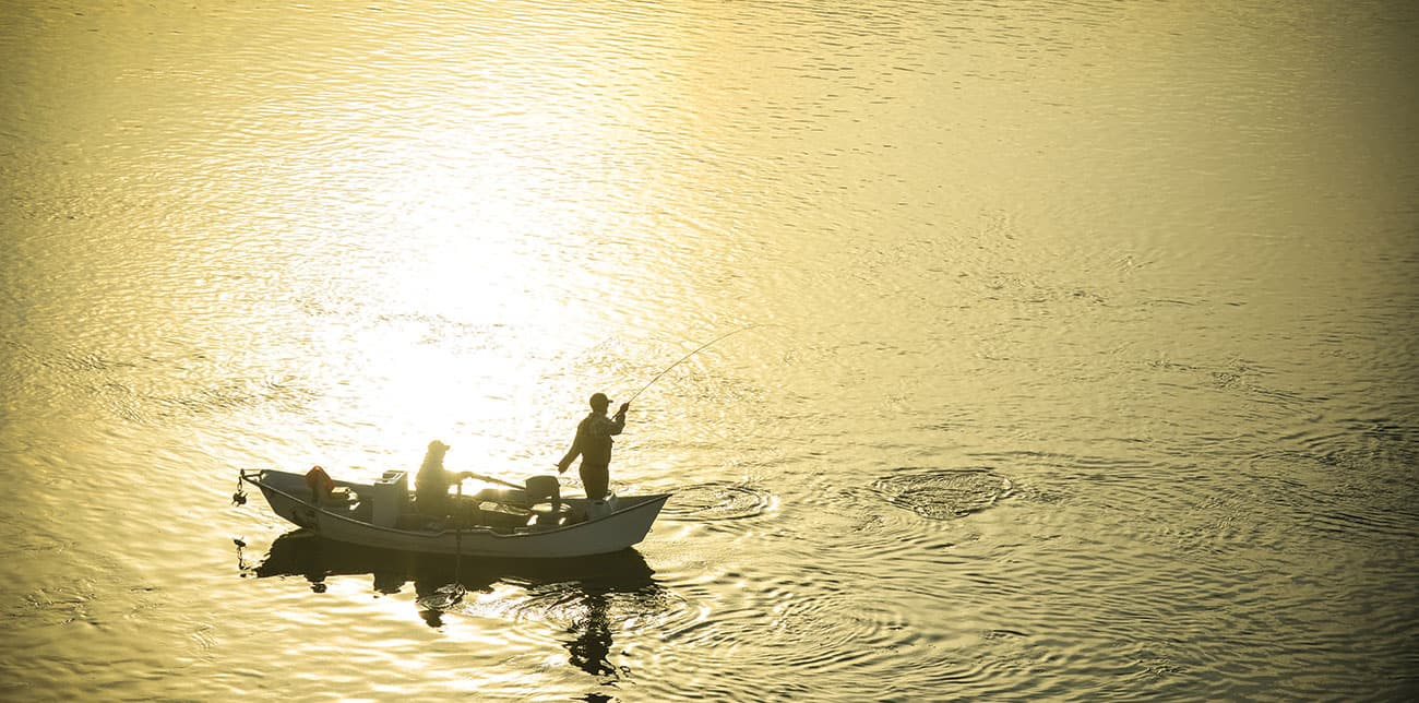 RAMP-TO-RAMP. SUN-UP TO SUNDOWN. JUNE DAYS ALLOW FOR A LONG DAY OF MONTANA FISHING.