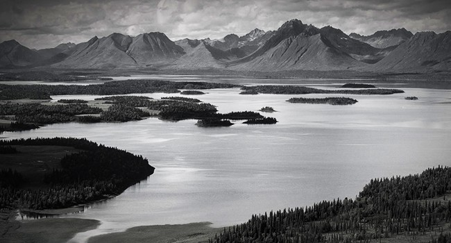 Trouble is Bristol Bay from the Pebble Mine project.
