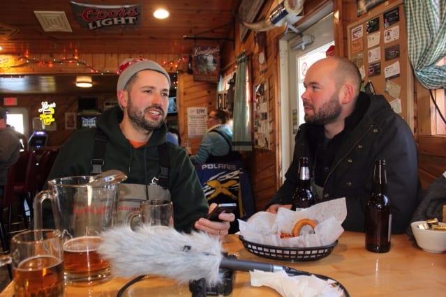 A post-fishing celebration - flyfishing podcast - s. carey