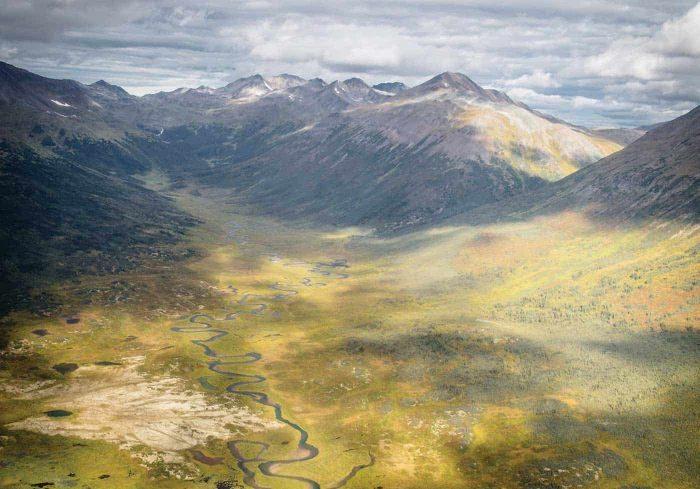 Chasing pike in the Yukon Territory