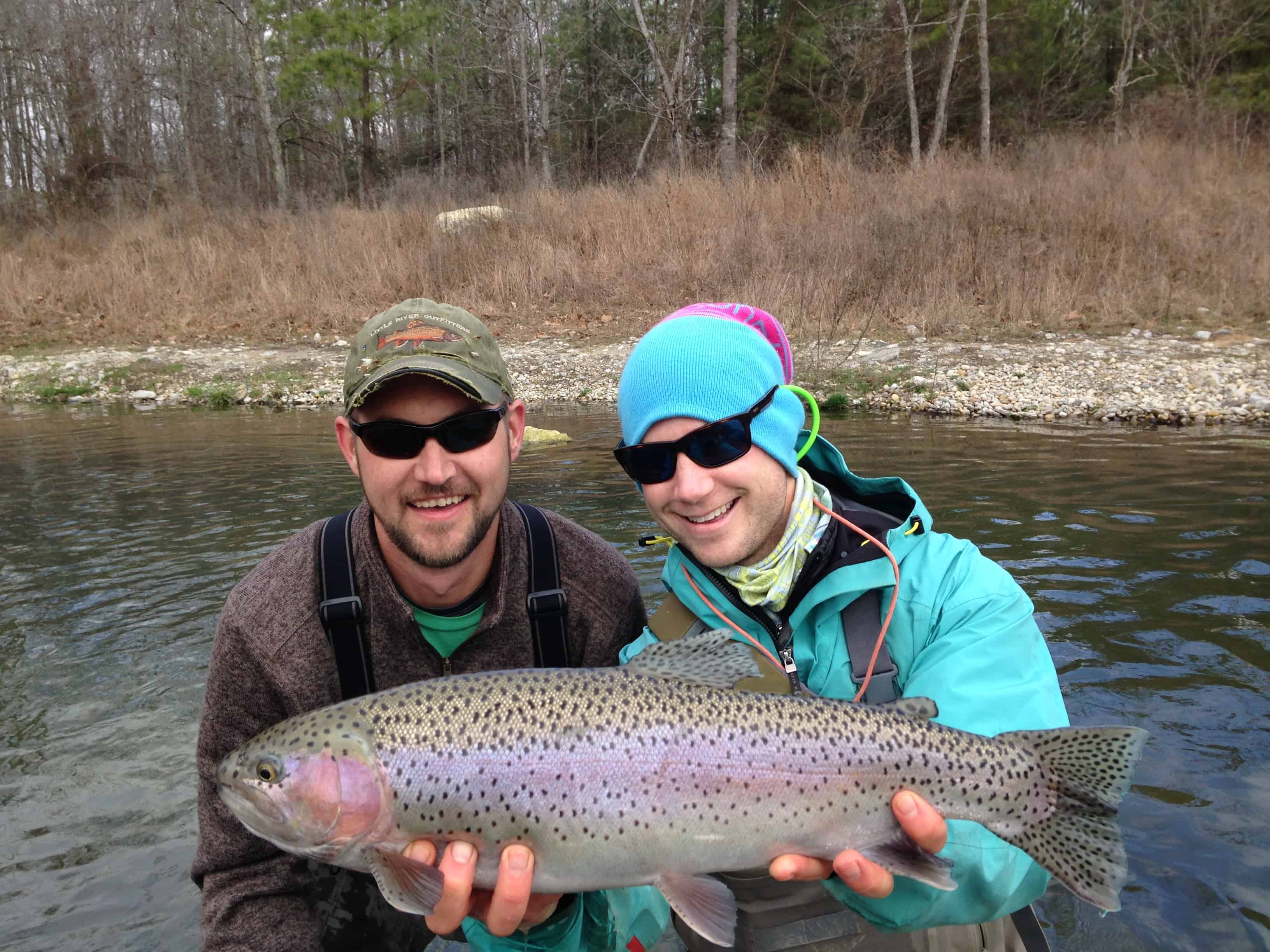 Cumberland River Rainbow Trout flyfishing podcast the Drakecast