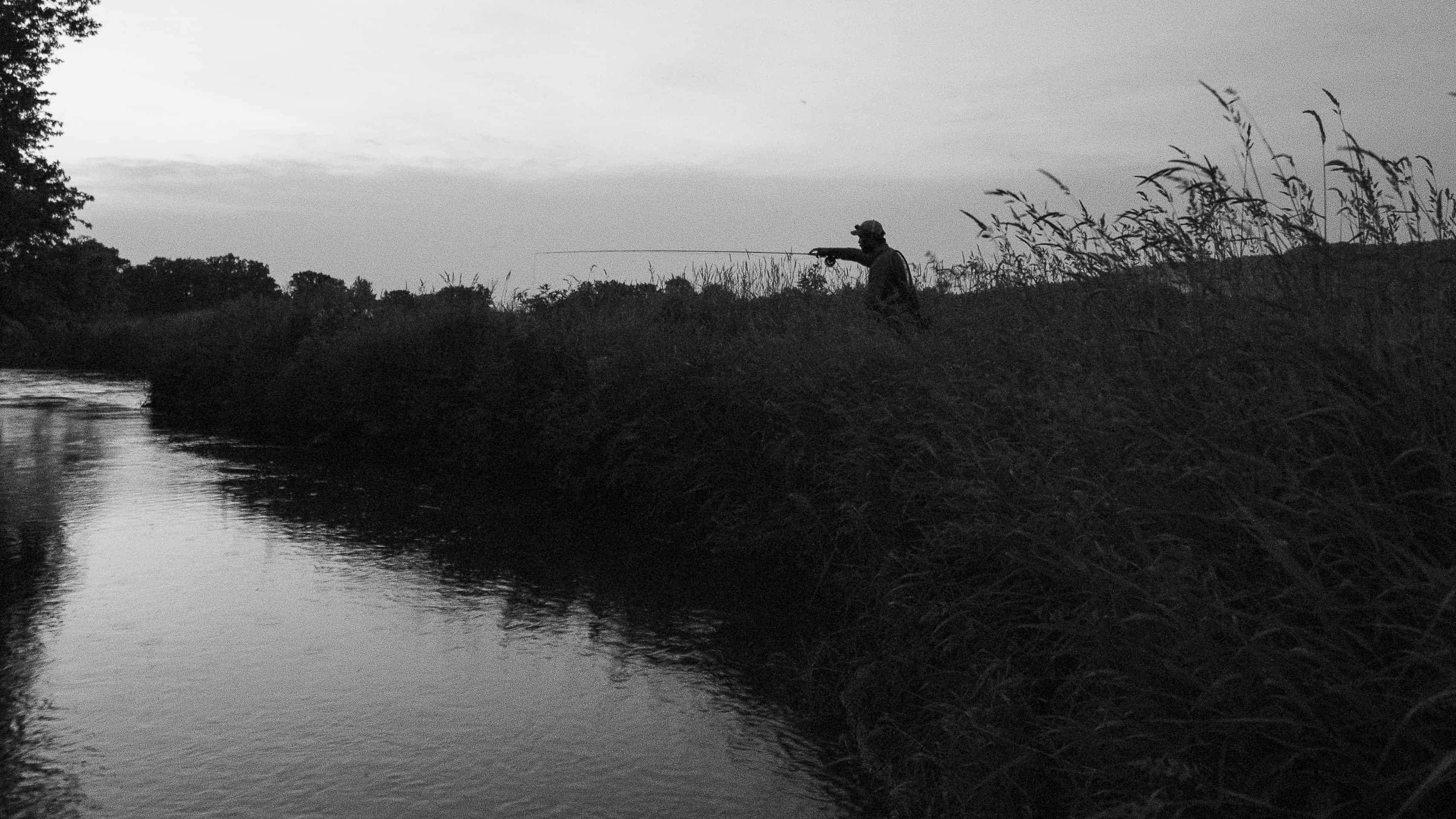 Fishing spring creek wisconsin drakecast