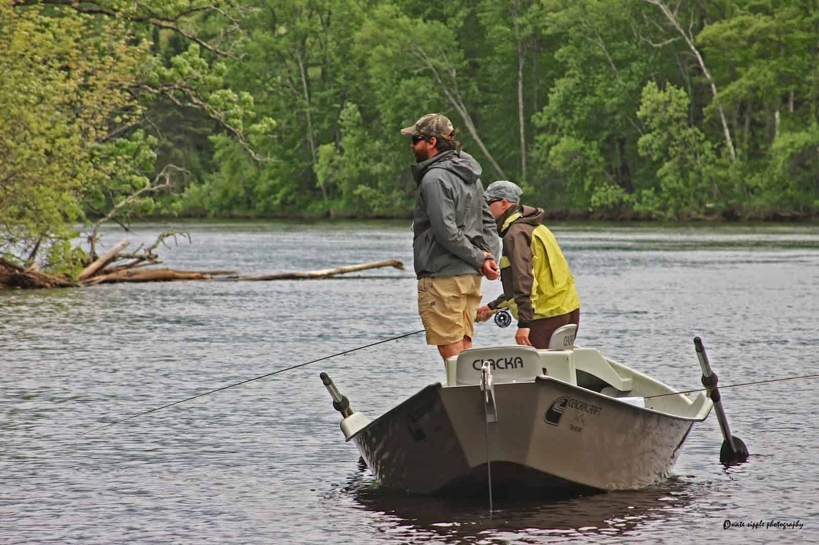 Charlie Piette Tight Lines Fly Fishing Menominee River Flyfishing