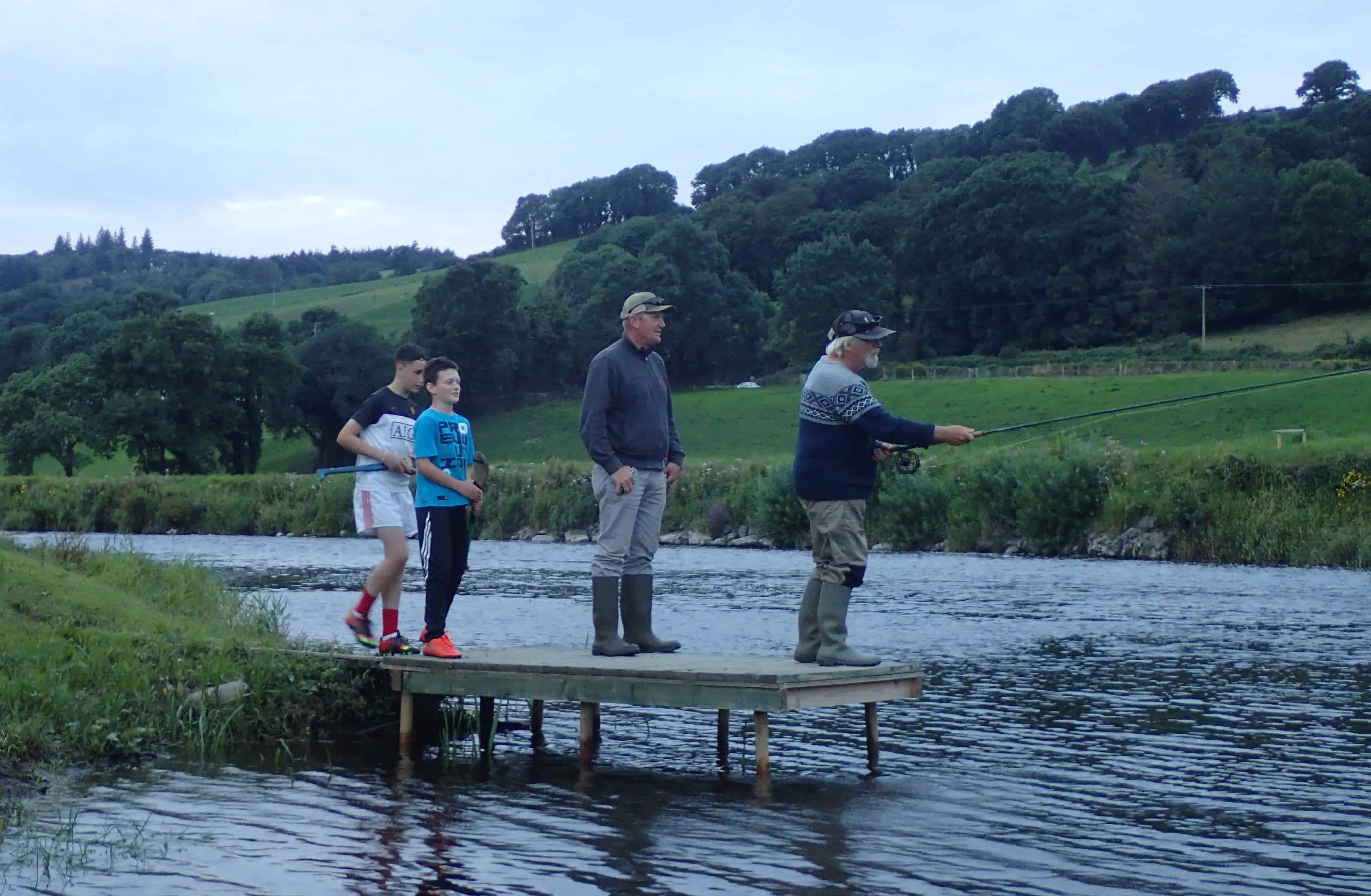 Ballyduff Bridge Salmon Fishery Corcoran Family The DrakeCast Flyfishing Podcast