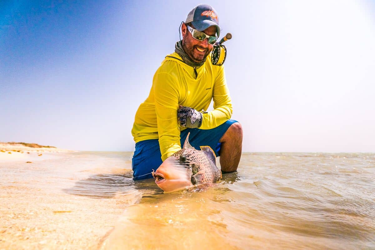 The DrakeCast Flyfishing Podcast Schnitzer Triggerfish Sudan Dubai