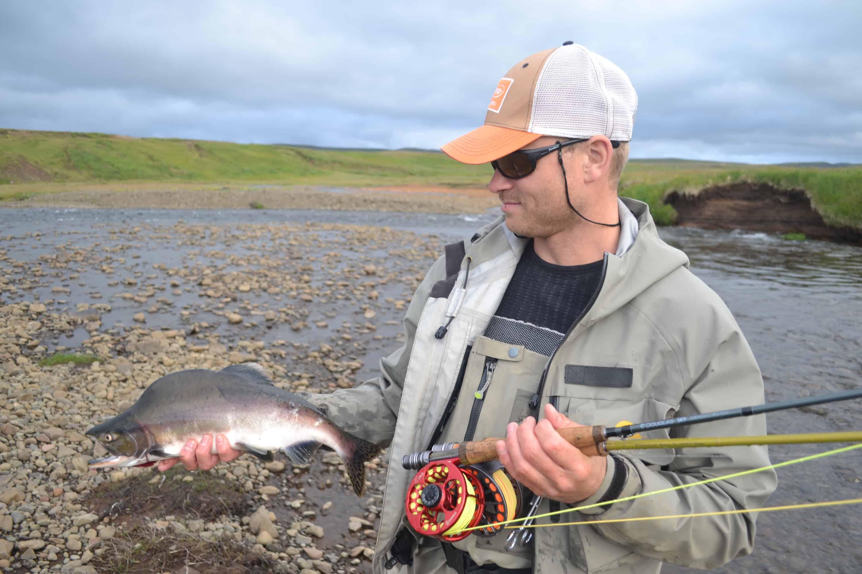 Pink Salmon River Bakkau Kristjan Rafnsson Fish Partner The DrakeCast