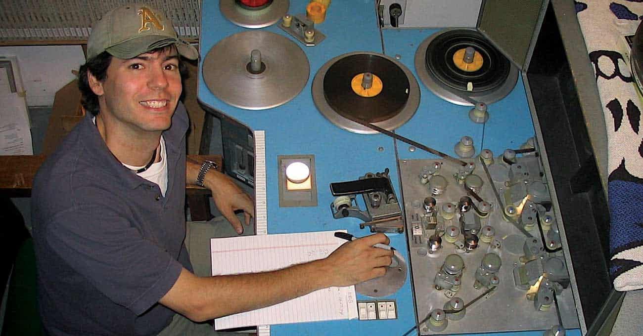 Lemieux, in the studio.