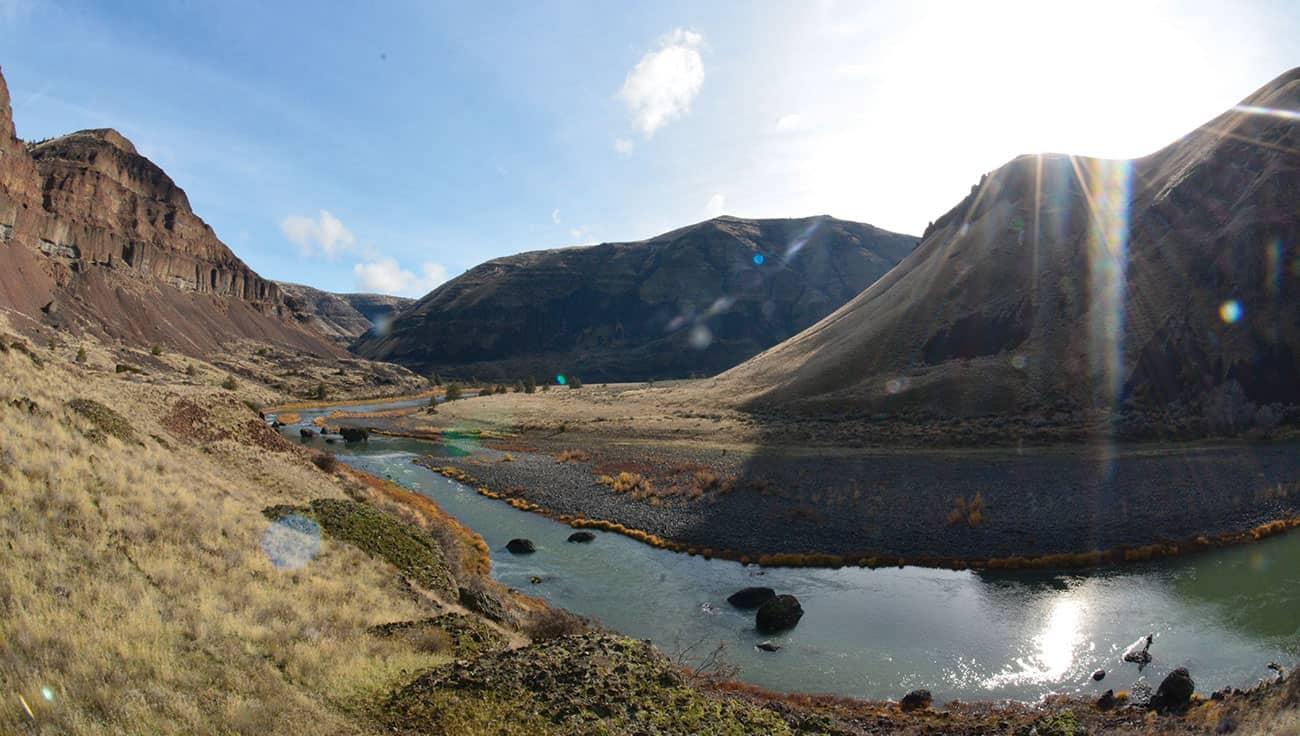 John Day River Landscape