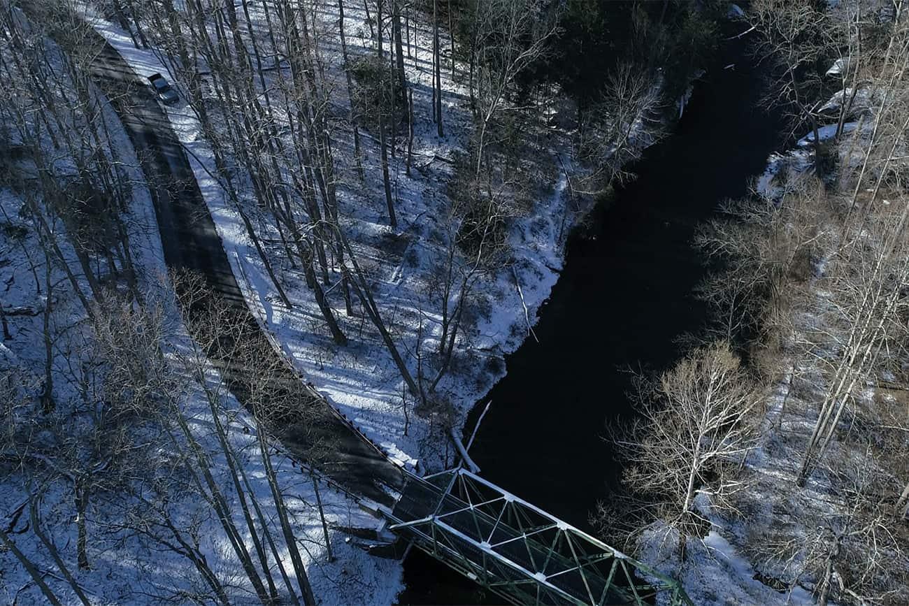Gunpowder and Streamer Fishing In Winter