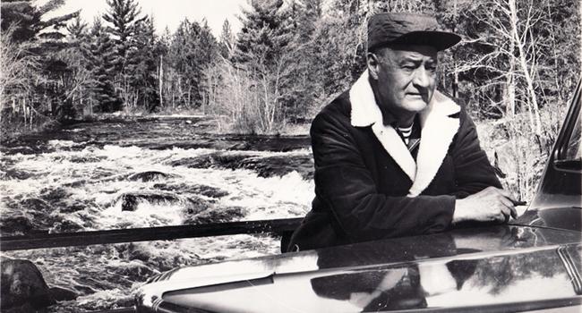 Renowned novelist and outdoor writer John D. Voelker.
