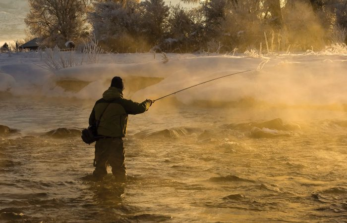 Drake Magazine Winter Fly Fishing