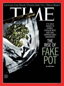 Time Magazine Fake Pot Spice Cover