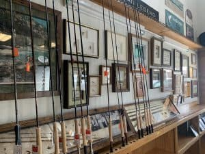 Rods for sale and Jacklin's Wall of Fame