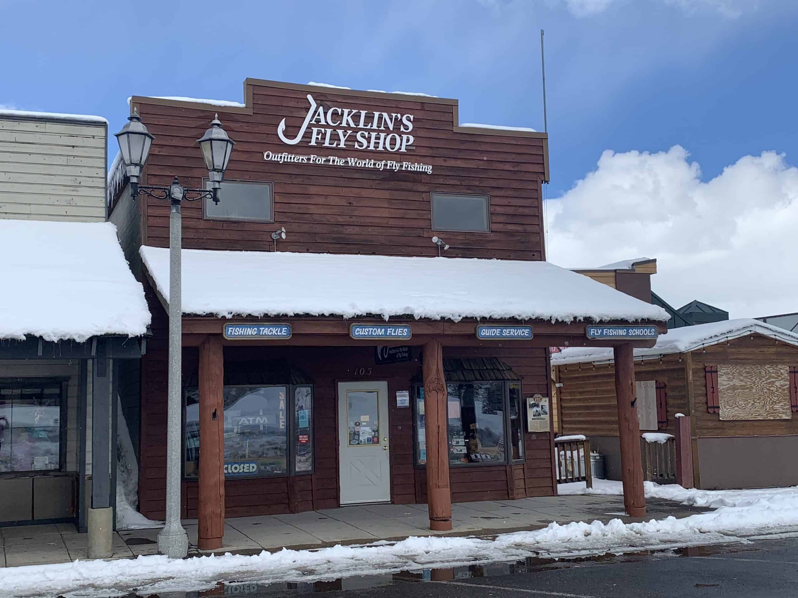 Jacklin's Fly Shop in West Yellowstone